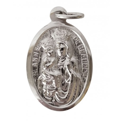 St. Anne silver oval medal