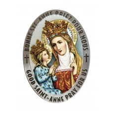 St. Anne small magnetic plate