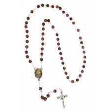 St. Anne rosary - Rosewood color