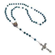 St. Anne rosary - Blue