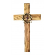 Cross with Jesus thorns crown