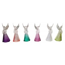 Six colors Angel statues 4 inches