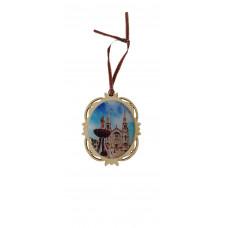 Christmas ornament - Basilica fountain