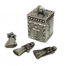 Angels's  metal worries box