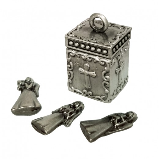 Métal box - Entrusts your worries to the angels