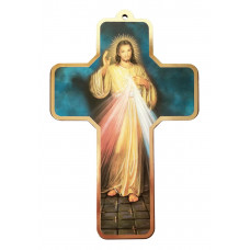 The Divine Mercy Cross - 7 inches X 4.5 inches