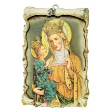 St. Anne plaque - Soothing theme and colors