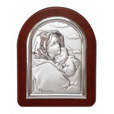 Mini silver frame - Our Lady of the road
