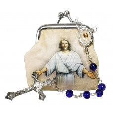 Our Lord Jesus Christ rosary case and Rosary