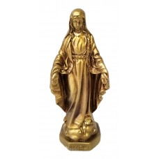 Immaculate Conception statue - Brass color