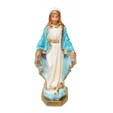Immaculate Conception 5 inches color statue