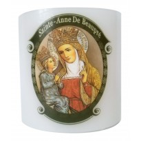 Battery operated  St. Anne de Beaupre Vigil lantern